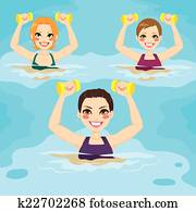 Aqua Gym Exercises