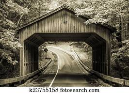 Vintage Covered Bridge