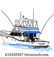Offshore Sport Fishing Boat