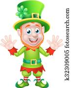 St Patricks Day Leprechaun