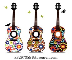 Flower power guitars