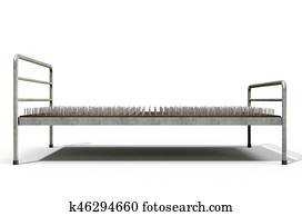 Bed Of Nails Isolated