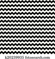 Zig zag chevron wrapping pattern