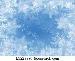 abstract winter background