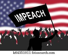 American Impeachment Protesters To Impeach Corrupt President Or Politician