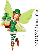 St. Patricks Day Fairy