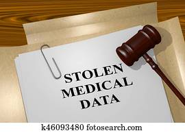 Stolen Medical Data - legal concept
