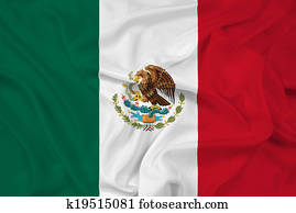 Waving Mexico Flag