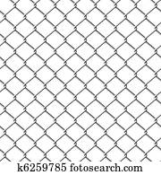 Chainlink fence. Seamless.