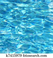 Swimming Pool Water. Vector texture