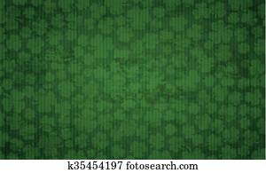 Long Vintage Background Shamrocks St Patricks Day