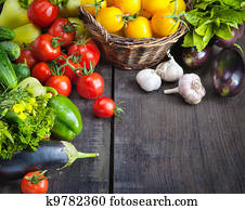 FARM FRESH vegetables and fruits