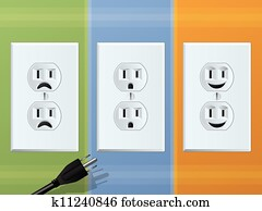 Power Outlet Emotions