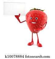 strawberry character