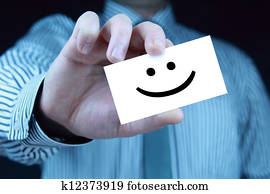 smile - business card