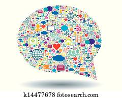 bubble of communication