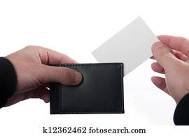 card and wallet
