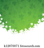 Vector St. Patricks Day Background