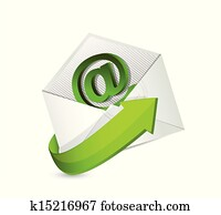 email. mail. contact us illustration