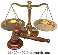 Scale Gavel lawyer justice legal attorney