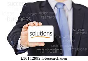 business card offer solutions